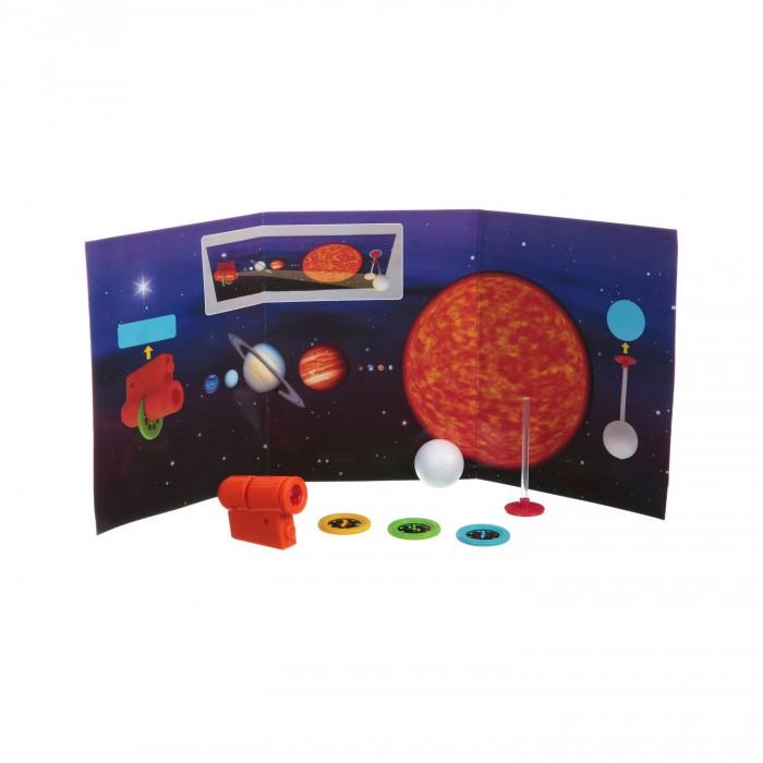 Картинка для Наборы для опытов и экспериментов Bondibon Японские опыты Науки с Буки Космический проектор