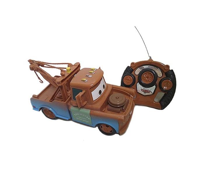 Машины Yellow Машинка Тачки Мэтр на радиоуправлении 20 см игрушка на радиоуправлении