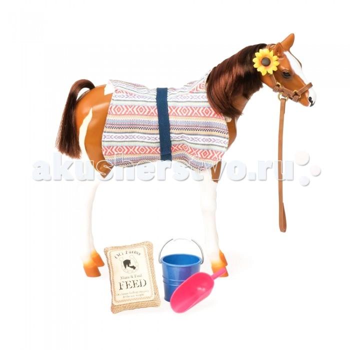 Our Generation Dolls Жеребенок порода Пинто ПасоЖеребенок порода Пинто ПасоЖеребенок порода Пинто Пасо в одежде из текстильных материалов с аксессуарами особенно понравится девочкам, которые любят лошадей. Лошадка выглядит очень реалистично, даже самый маленький аксессуар тщательно продуман!  Жеребенок порода Пинто Пасо может стать отличным подарком, так как имеет очень красивую упаковку.<br>