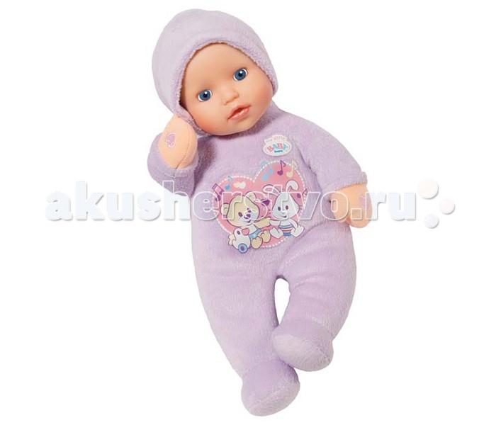 Куклы и одежда для кукол Zapf Creation Baby Born Кукла музыкальная 30 см zapf creation zapf creation кукла baby born мягкая 30 см