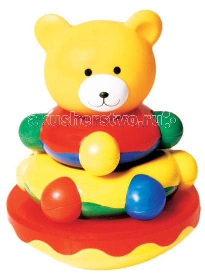 Развивающие игрушки Мир детства пирамидка Мишка-Топтыжка maxi play мишка топтыжка музыкальный 21 см
