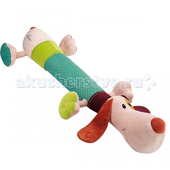 Мягкая игрушка Lilliputiens Собачка Джеф: пёс - великанСобачка Джеф: пёс - великанМягкая игрушка Lilliputiens Собачка Джеф: пёс - великан забавная мягкая игрушка, собачка Джеф: пёс - великан. С такой игрушкой ребенку никогда не будет скучно. Этот пёс очень красивый и мудрый. Дети будут использовать его в качестве подушки, друга, утешителя. Джеф любит обниматься.   Мягкую игрушку можно использовать даже при игре с детьми самого младшего возраста.<br>