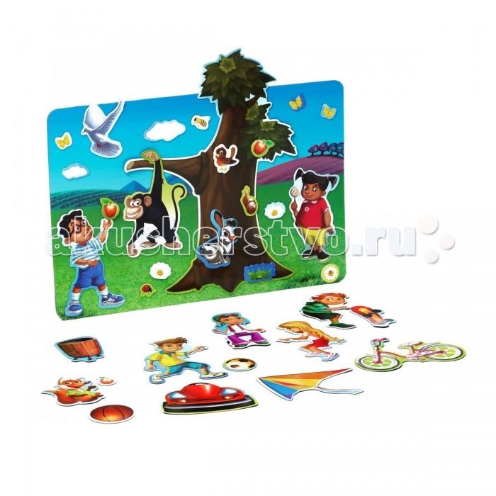 Купить Книжки-игрушки, Bondibon Магнитный театр Весёлые каникулы 65 магнитов