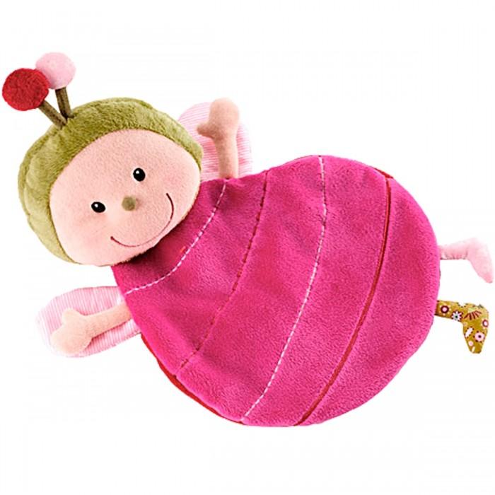 Мягкие игрушки Lilliputiens Божья коровка Лиза обнимашка аппликация на магнитике божья коровка