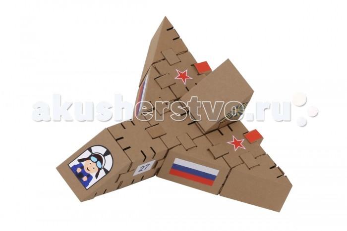 Конструкторы Yohocube Набор Самолет 11 деталей конструкторы yohocube конструктор йохо куб самолет