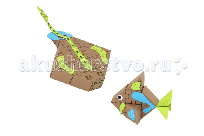 Конструкторы Yohocube Набор Морские рыбки 26 деталей конструкторы fanclastic конструктор fanclastic набор роботоводство