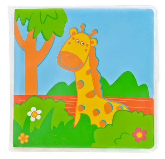Игрушки для ванны Мир детства Книжка для ванной Путешествие в джунглях фиксатор двери мир детства мишка