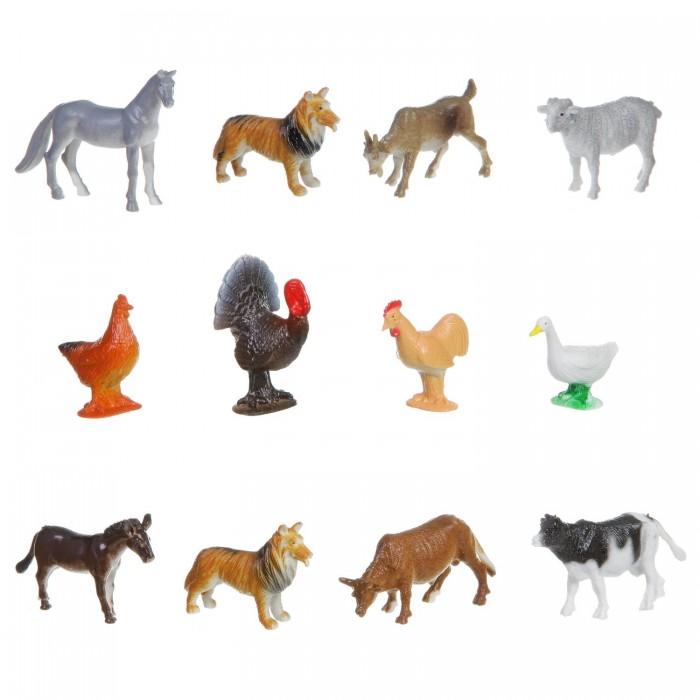 Купить Bondibon Набор животных Ребятам о Зверятах Домашние животные и птицы 2 дюйма 12 шт. в интернет магазине. Цены, фото, описания, характеристики, отзывы, обзоры