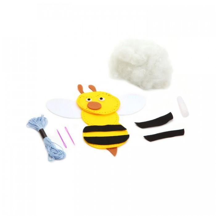 Наборы для творчества Bondibon Набор для творчества МК Игрушка из фетра Пчела bondibon шьем из фетра сумка сердечко