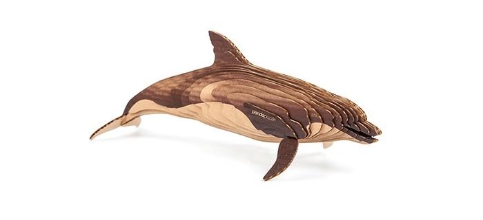 Конструкторы Panda Puzzle 3D Дельфин 23 детали 3d puzzle магический кристалл дельфин розовый с подсветкой