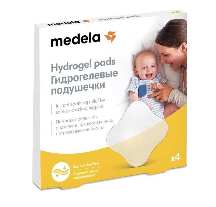 Гигиена для мамы Medela Подушечки гидрогелевые стерильные на грудь 4 шт. автоматический выключатель legrand dx3 e 6000 6ка тип c 3п 40а 407295