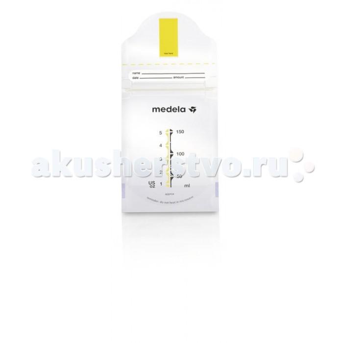 Аксессуары для кормления , Контейнеры Medela Пакеты для сбора и хранения грудного молока Pump&Save 150 мл 20 шт арт: 13254 -  Контейнеры