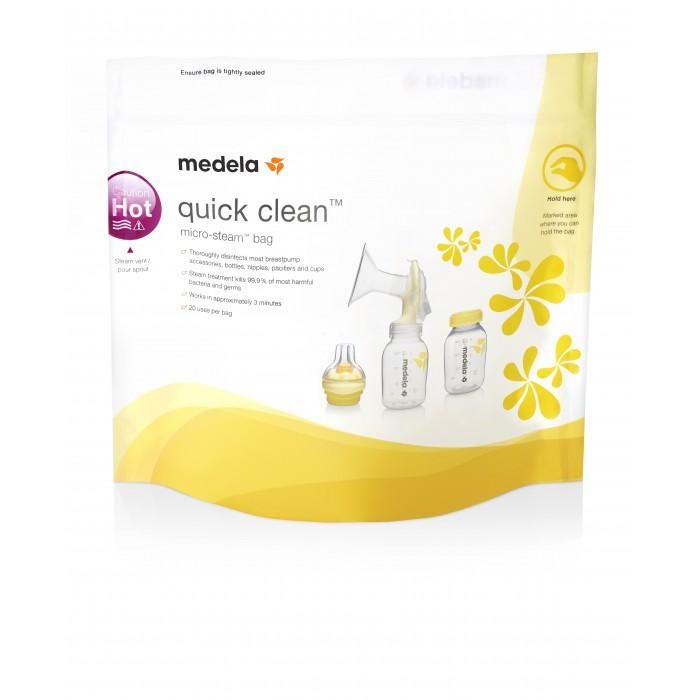 Купить Подогреватели и стерилизаторы, Medela Пакеты для стерилизации в микроволновой печи Quick Clean 5 шт.