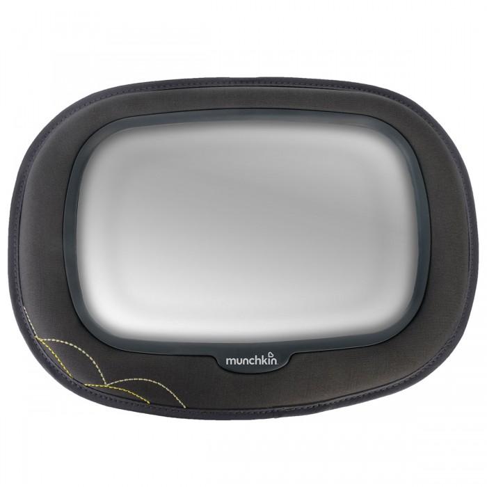 Munchkin Зеркало контроля за ребёнком в автомобиле Baby Mega MirrorЗеркало контроля за ребёнком в автомобиле Baby Mega MirrorЗеркало для контроля за ребенком в автомобиле Munchkin – прочное и безопасное, оно позволит вам сохранять визуальный контакт с малышом во время всей поездки.  Следите за тем, чем занимается ваш малыш во время поездки на машине - с дополнительным зеркалом Munchkin это очень просто! Зеркало крепится рядом с ребенком, сидящим в автокресле против хода движения, и дает родителю отличный обзор - вы всегда будете знать, как себя чувствует ваш ребенок в дороге и чем он занят в данную минуту.  Особенности:  крепится напротив автокресла, расположенного против направления движения зеркало обеспечивает хороший обзор небьющееся зеркало гарантирует полную безопасность несколько вариантов крепления, подходящих для большинства моделей автомобилей  Размер зеркала: 25.4х16 см.  На протяжении более 25 лет американская компания Munchkin работает над тем, чтобы избавить мир от надоевших прозаических товаров и облегчить жизнь каждого родителя, предлагая инновационные решения для ухода за малышом. Munchkin знает, что именно небольшие детали в жизни родителей и детей имеют решающее значение - все товары этой марки просты и понятны даже ребенку, при этом они способны превратить обыденные задачи в настоящее удовольствие!<br>