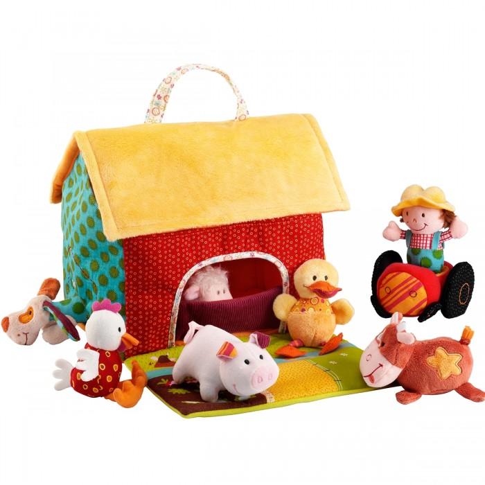 Мягкие игрушки Lilliputiens Набор мягких игрушек На ферме, Мягкие игрушки - артикул:132680