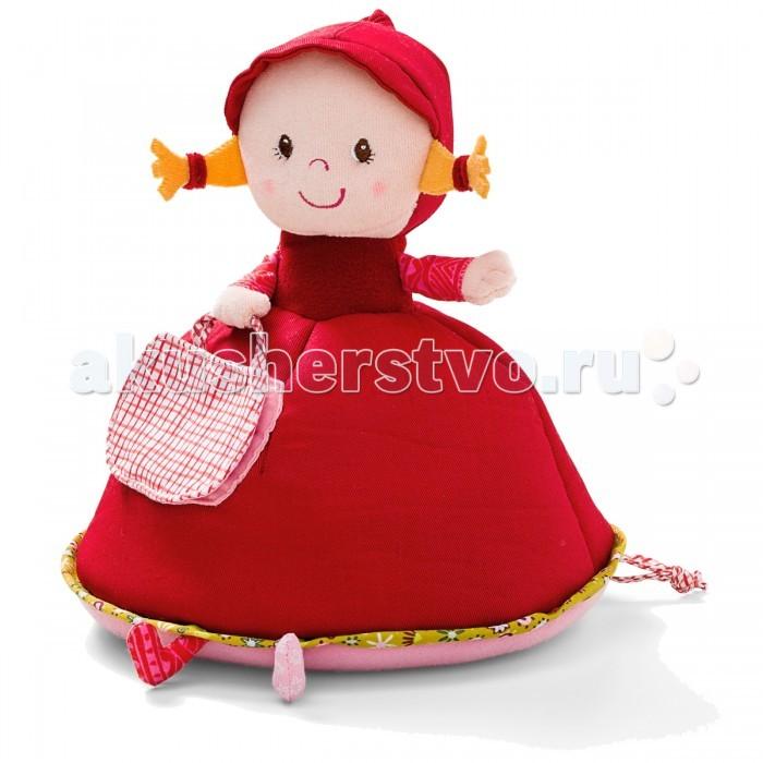 Мягкая игрушка Lilliputiens Красная Шапочка: музыкальная копилкаКрасная Шапочка: музыкальная копилкаМягкая игрушка Lilliputiens Красная Шапочка: музыкальная копилка. Положите монеты в корзинку, а она присмотрит за Вашим сокровищем Каждый раз, когда Вы помещаете в нее свои сбережения, играет мелодия: Dont Worry, Be Happy.<br>