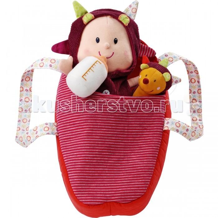 Lilliputiens Мягкая куколка в переноске с ежиком