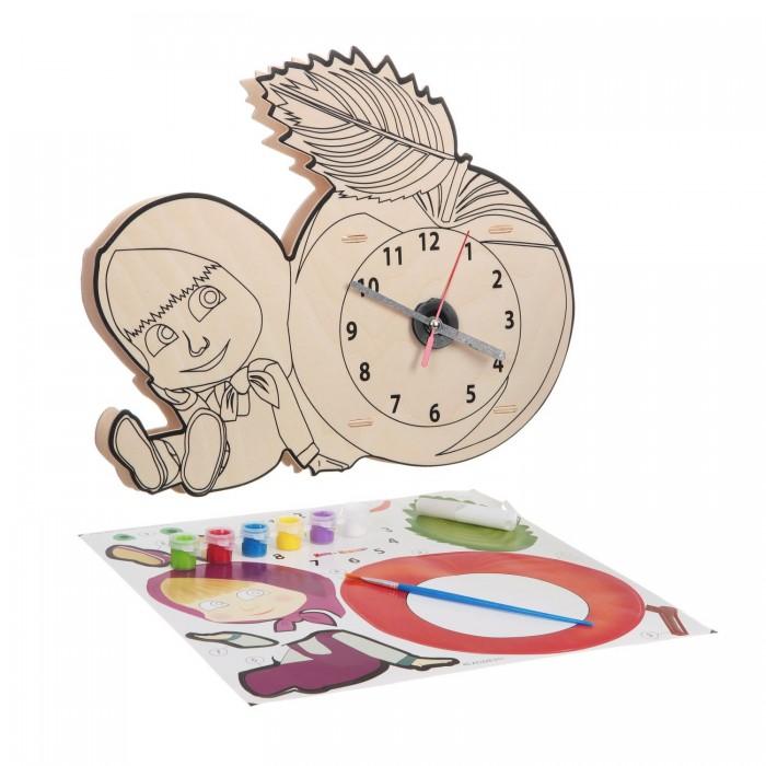 Наборы для творчества Bondibon Набор для творчества Маша и медведь Часики от Маши краски маша и медведь набор для рисования рисуем с машей
