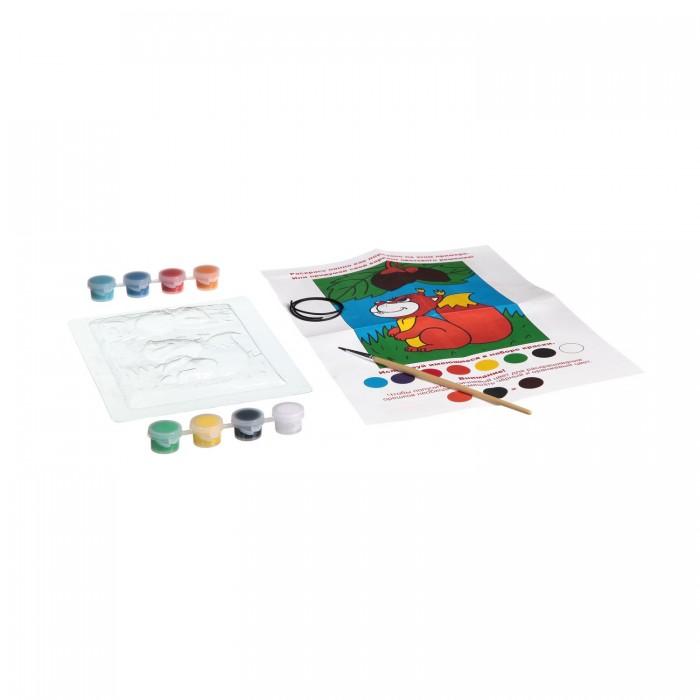Наборы для творчества Bondibon Набор для творчества Панно из гипса (для девочек 1 вид) наборы для творчества bondibon набор для творчества магниты из гипса для мальчиков 6 видов