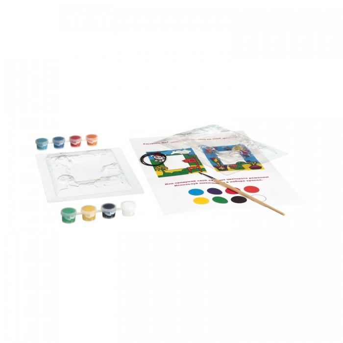 Наборы для творчества Bondibon Набор для творчества Фоторамки из гипса (для девочек 2 вида) lori фоторамки из гипса фрукты