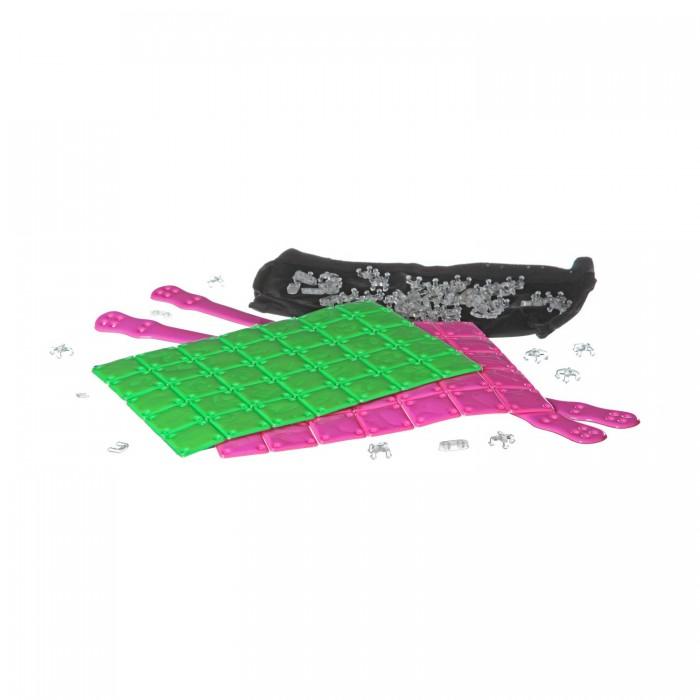 Bondibon Набор Я дизайнер сделай сумку из пластин 21х23.5 см, розово-салатовая