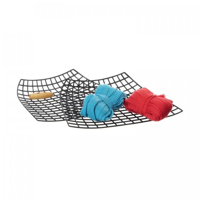 Наборы для творчества Bondibon Набор Я дизайнер сделай сумку из хлопковых нитей 20x15 см