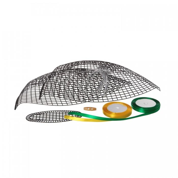 Наборы для творчества Bondibon Набор Я дизайнер сделай сумку из сатиновых лент 40х22 см
