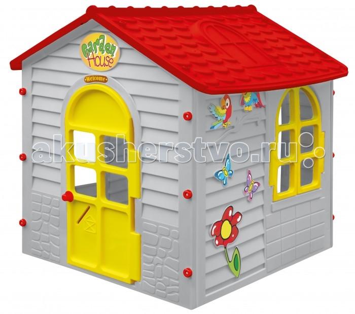 Mochtoys Игровой домик 11156Игровой домик 11156Mochtoys Домик для игр 11156  Игровой домик Mochtoys, сделанный из высококачественная прочного пластика — это прекрасный выбор для любого ребенка. Пластиковый домик имеет окна и двери ярких тонов, которые не выцветают. Размеры домика достаточны, чтобы вместить несколько детей одновременно, что обеспечивает невероятные возможности для совместных игр малышей на свежем воздухе. Кроме того, домик для детей был сконструирована так, чтобы исключить острые края, поэтому он абсолютно безопасен для наших детей<br>