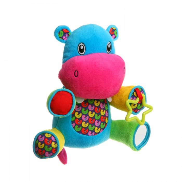 Фото - Развивающие игрушки Bondibon Бегемот 22,5 см мягкие игрушки fancy бегемот с зелёным бантиком