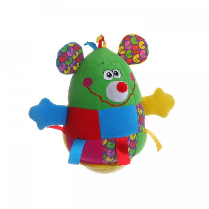Развивающие игрушки Bondibon Неваляшка Мышь 19 см развивающие игрушки tolo toys кенгуру первые друзья