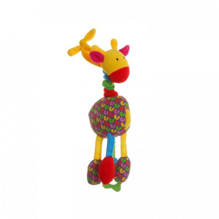 Подвесные игрушки Bondibon Растяжка Жираф 35 см матильда мастерс может ли жираф облизать свои уши