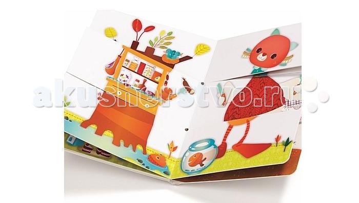 Развивающие книжки Lilliputiens Развивающая книжка: ферма lilliputiens книжка игрушка петушок джон