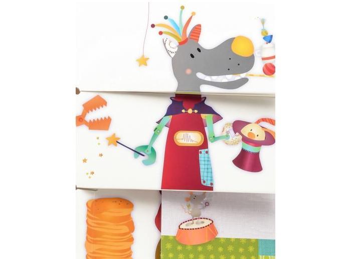 Развивающие книжки Lilliputiens Развивающая книжка: цирк Шапито lilliputiens книжка игрушка петушок джон