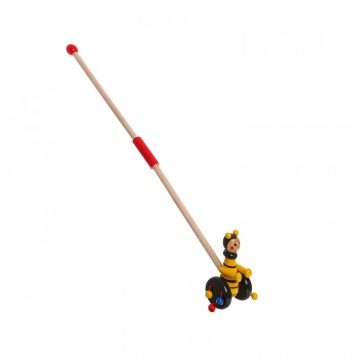 Каталки-игрушки Bondibon Пчелка с ручкой arteast подвеска пчелка