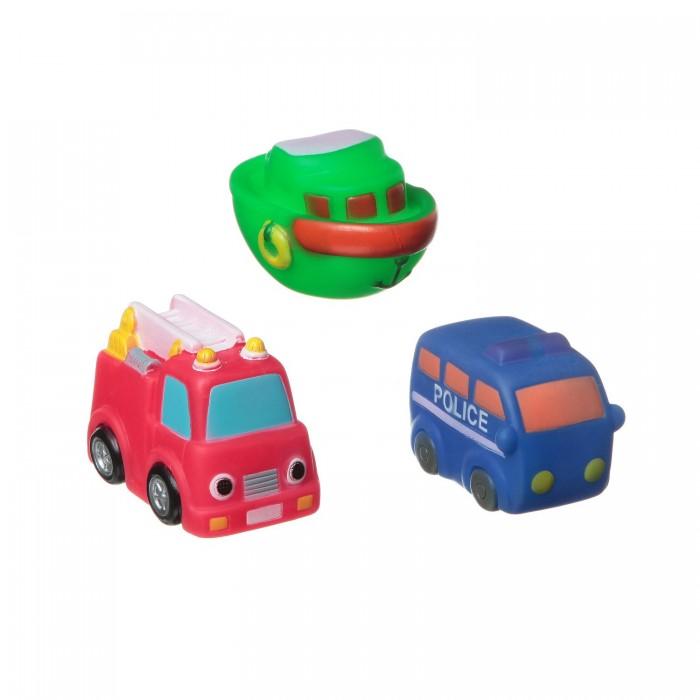 Игрушки для ванны Bondibon Игровой набор для купания транспорт 3 шт. игрушки для ванны tolo toys набор ведерок квадратные
