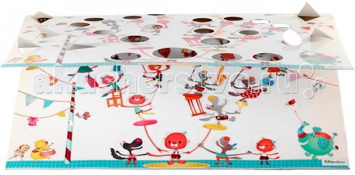 Фотоальбомы и рамки Lilliputiens Мини фото-альбом Цирк Шапито: Семейное древо книжки игрушки lilliputiens цирк шапито мягкая развивающая книжка игрушка