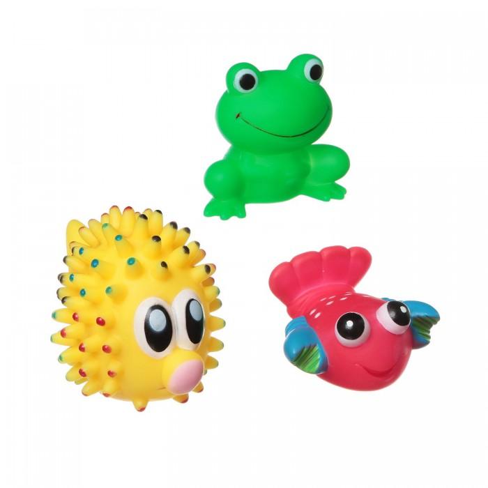 Игрушки для ванны Bondibon Игровой набор для купания 3 шт. ВВ1392 игрушки для ванны tolo toys набор ведерок квадратные