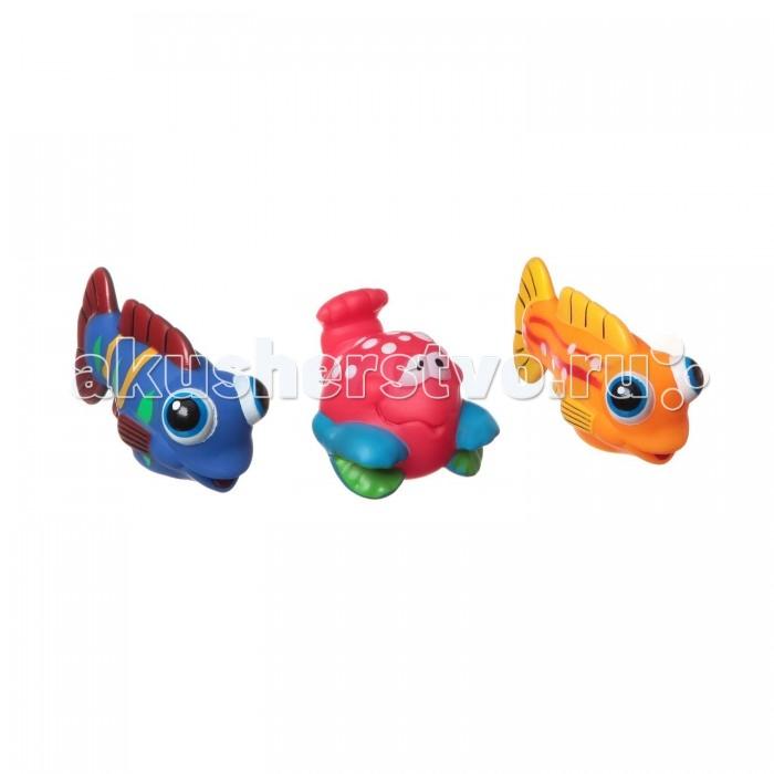 Игрушки для ванны Bondibon Игровой набор для купания 3 шт. ВВ1393 игрушки для ванны tolo toys набор ведерок квадратные