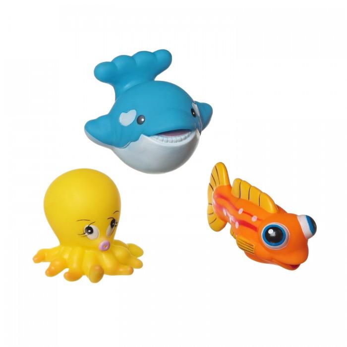 Игрушки для ванны Bondibon Игровой набор для купания 3 шт. ВВ1395 игрушки для ванны tolo toys набор ведерок квадратные