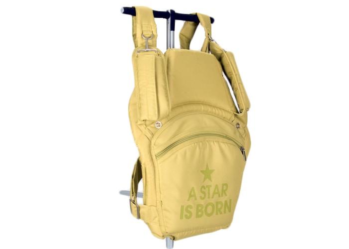Рюкзак-кенгуру Casualplay Mochila Lima DivinMochila Lima DivinMochila – практичный рюкзак-переноска для удобства родителей и малыша. Ребенок может находится в рюкзаке в двух положениях: лицом к родителям, спиной к родителям. Регулируемые наплечные и поясничные ремни обеспечивают равномерное распределение веса малыша и максимальный комфорт при переноске. Рюкзак выполнен из специального материала с высокой воздухопроницаемостью.  Особенности: рюкзак повышенной комфортности предназначен для переноски малышей от 4-5-ти месяцев до 2-х лет и весом до 15 кг практичная, легкая и компактная соответствует европейскому стандарту EN 13209-2:2005 ребенок может находится в рюкзаке в двух положениях: лицом к родителям, спиной к родителям регулируемые наплечные и поясничные ремни мягкое сиденье рюкзака обеспечивает безопасность ребенку большой карман на молнии для детских принадлежностей рюкзачок можно стирать в деликатном режиме, при температуре 40 градусов  Общие размеры (дхш): 40х34 см<br>