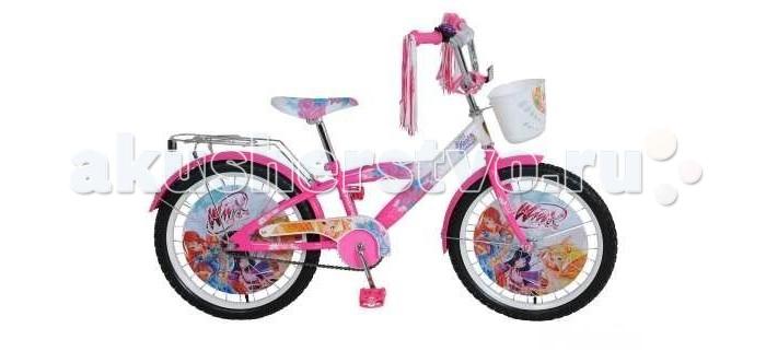 Велосипед двухколесный Navigator Winx 20 T1-типWinx 20 T1-типВелосипед Navigator Winx 20 T1-тип - это хорошо собранный и надёжный велосипед для ребёнка. Модель подойдет для ребенка ростом 120-147 см. Детский велосипед с ярким дизайном и популярной лицензией Winx.  Велосипед оснащен клаксоном, мишурой на руле, багажником и корзиной для игрушек.. Катание на велосипеде благоприятно влияет на здоровье, укрепляет мышцы, развивает зрение, учит ориентироваться в пространстве и принимать решения.   Особенности: Тип: детский Материал рамы: сталь Амортизация: отсутствует Конструкция вилки: жесткая Конструкция рулевой колонки: неинтегрированная, резьбовая Диаметр колес: 20 дюймов Материал обода: алюминиевый сплав Двойной обод: нет Шатун: односоставной Возможность крепления боковых колес: нет Тип переднего тормоза: отсутствует Тип заднего тормоза: ножной Уровень заднего тормоза: начальный Количество скоростей: 1 Уровень каретки: начальный Конструкция каретки: неинтегрированная Тип посадочной части вала каретки: квадрат Количество звезд в кассете: 1 Количество звезд системы: 1 Конструкция педалей: платформы Конструкция руля: изогнутый Настройка положения руля: регулируемый подъем Материал рамки седла: сталь Комфорт: защита цепи, мягкая накладка на руле<br>