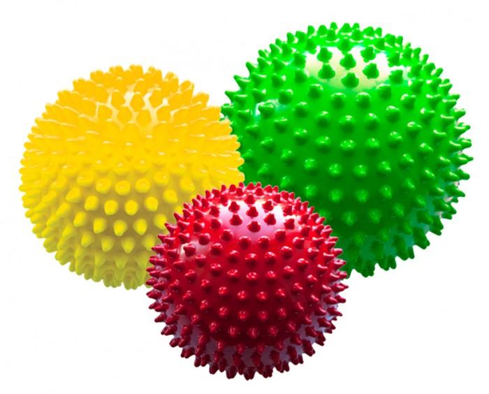 МалышОК Набор мячей большой Светофор в сетке