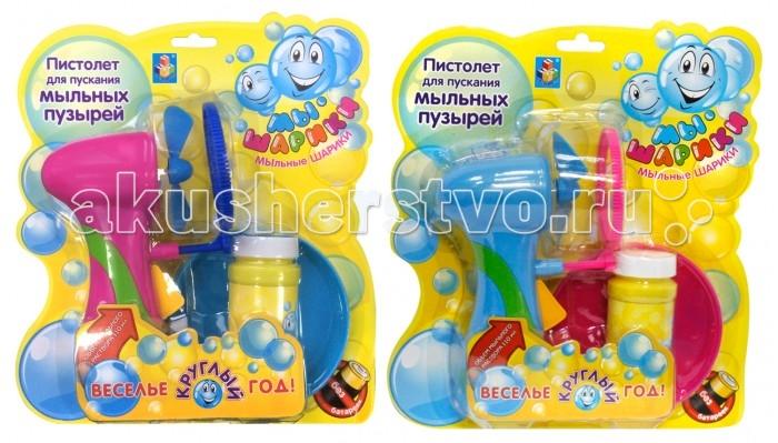 Мыльные пузыри 1 Toy Мыльные пузыри Мы-шарики! Т58748 мыльные пузыри формула 1 60 мл