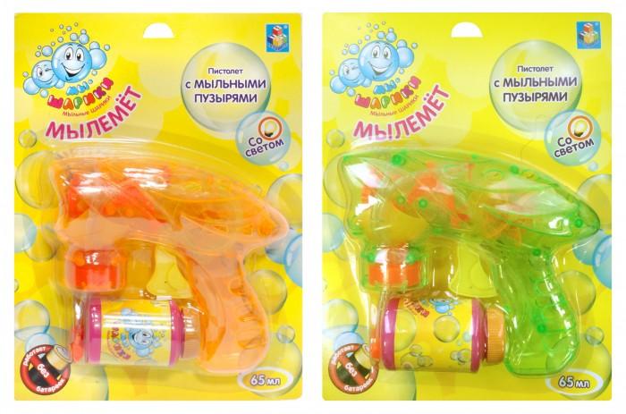 Мыльные пузыри 1 Toy Мыльные пузыри Мы-шарики! Т58738 мыльные пузыри май литл пони my little pony мыльные пузыри волшебная палочка 200 мл 32653