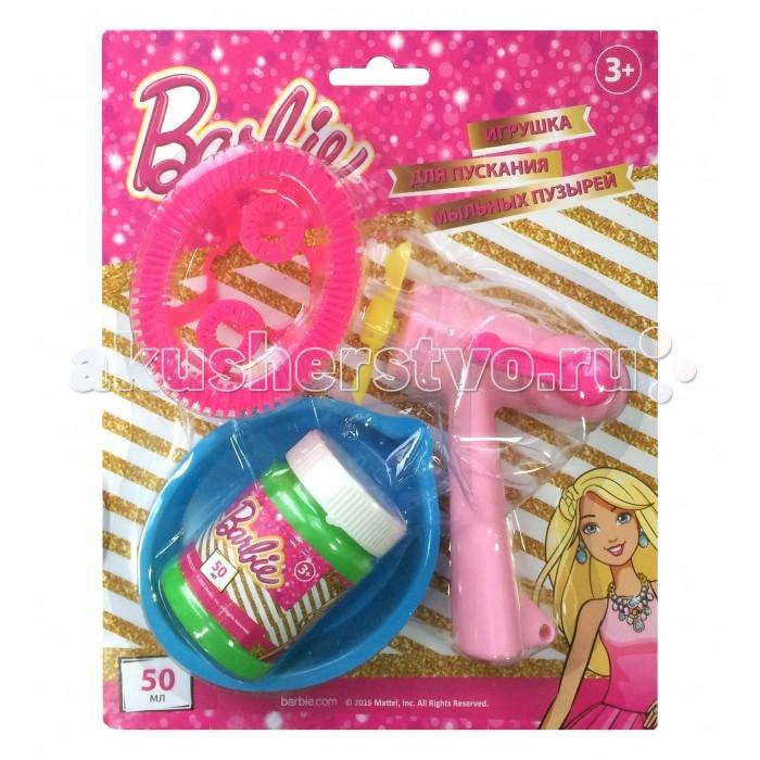 Мыльные пузыри 1 Toy Набор мыльных пузырей Barbie мыльный раствор для пузырей екатеринбург