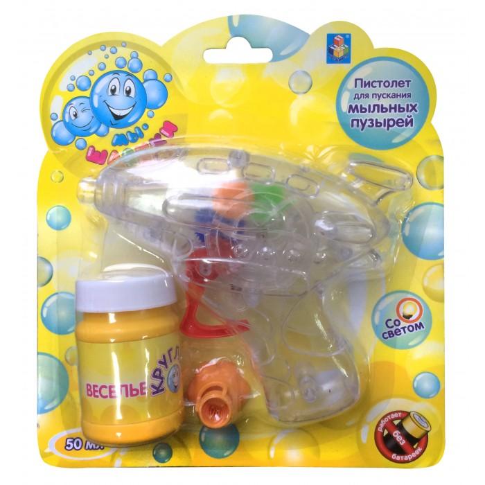 Мыльные пузыри 1 Toy Мыльные пузыри Мы-шарики! Т58742 мыльные пузыри формула 1 60 мл