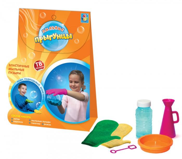 Мыльные пузыри 1 Toy Мыльные Прыгунцы Т58672 мыльные пузыри формула 1 60 мл