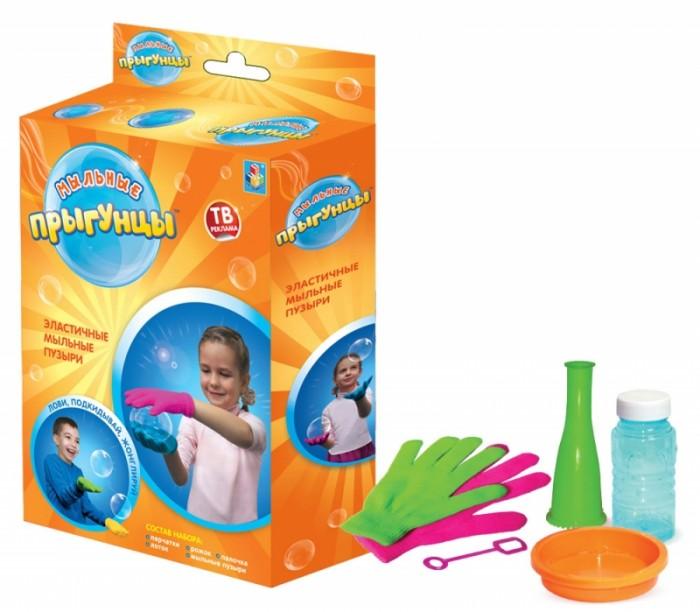 Мыльные пузыри 1 Toy Мыльные Прыгунцы Т58673 paddle bubble 278213 мыльные пузыри 60 мл с набором ракеток