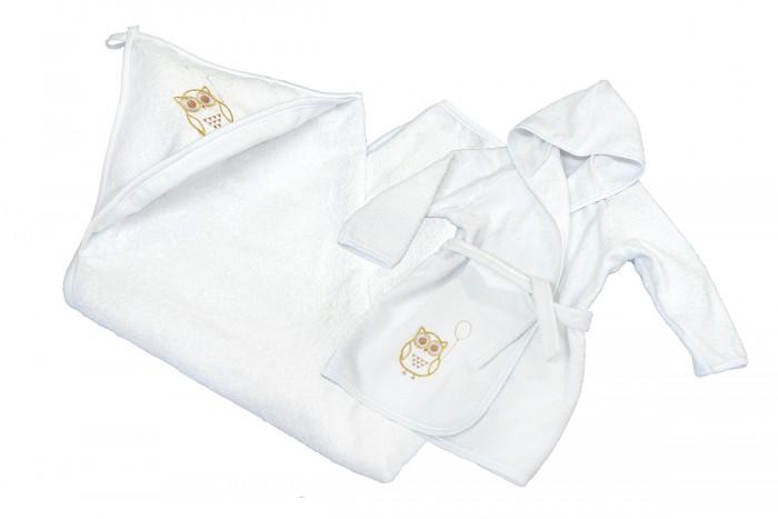 Полотенца Labeille Набор для купания Кроха домашняя одежда labeille банный аттик