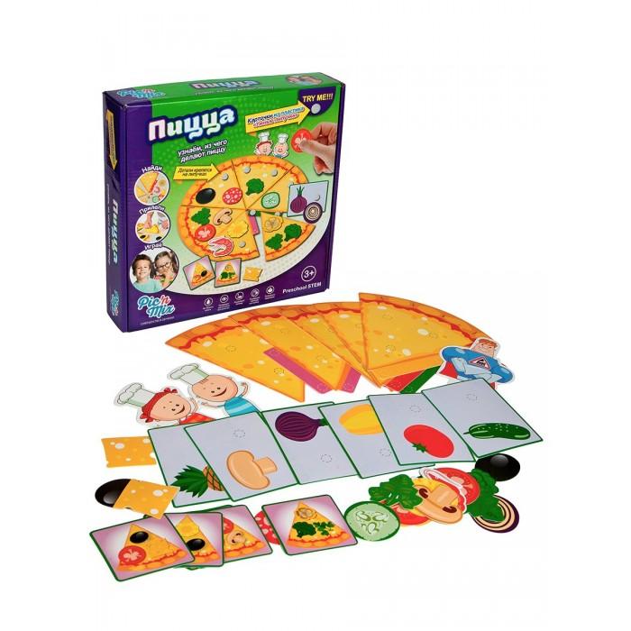 Игры для малышей Pic`n Mix Игра настольная развивающая Аркадий Паровозов Пицца настольные игры pic nmix